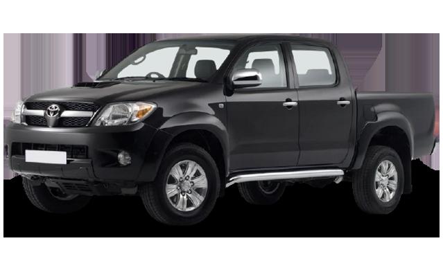 Килимок в багажник для Toyota (Тойота) Hilux 7 2004-2015
