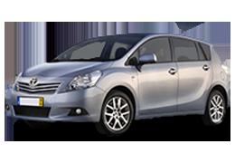 Килимок в багажник для Toyota (Тойота) Verso 1 2009-2013