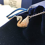 Серебряный кулон Swarovski ICONIC SWAN 5007735, фото 4