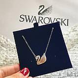 Серебряный кулон Swarovski ICONIC SWAN 5007735, фото 5
