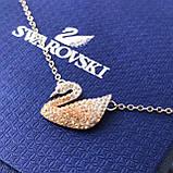 Серебряный кулон Swarovski ICONIC SWAN 5007735, фото 6