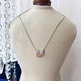 Серебряный кулон Swarovski ICONIC SWAN 5007735, фото 7