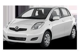 Килимок в багажник для Toyota (Тойота) Yaris/Vits 2 2005-2011