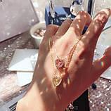 Серебряный кулон Swarovski Sparkling Dance Heart 5284188, фото 5