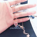 Серебряный кулон Swarovski Sparkling Dance Heart 5284188, фото 6