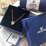 Серебряный кулон Swarovski Sparkling Dance Heart 5284188, фото 7