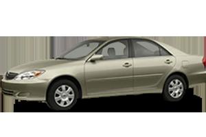 Килимок в багажник для Toyota (Тойота) Camry XV20 1996-2001