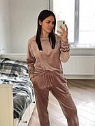 Женский велюровый костюм штаны и кофта  Orli, фото 3