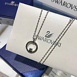 Серебряный кулон Swarovski CREATIVITY CIRCLE 5198686, фото 8