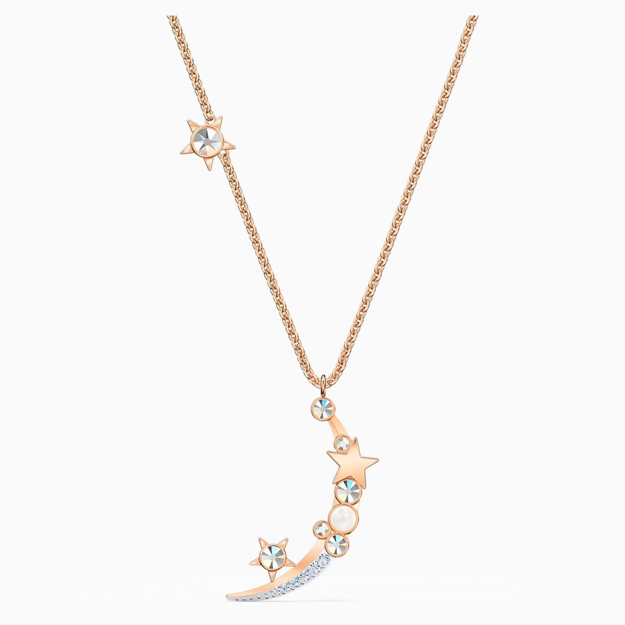 Серебряное ожерелье Swarovski STARRY NIGHT 5483536