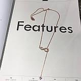 Серебряное ожерелье Swarovski Infinity 48.5347.5  5521346, фото 3