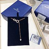 Серебряное ожерелье Swarovski Infinity 48.5347.5  5521346, фото 5