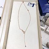 Серебряное ожерелье Swarovski Infinity 48.5347.5  5521346, фото 7