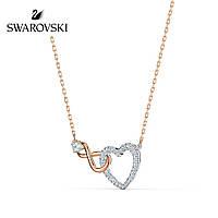 Серебряное ожерелье Swarovski Infinity 5518865, фото 1