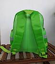Детский рюкзак дошкольный для мальчика в садик Танки 3 4 5 лет зеленый, фото 2