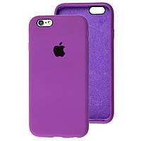 Чехол Silicone Case full для iPhone 6/6S Grape