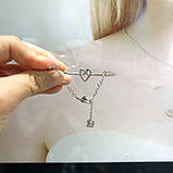 Срібний браслет Swarovski MY HERO 5490501, фото 5