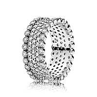 Серебряное кольцо Pandora 196313CZ, фото 1