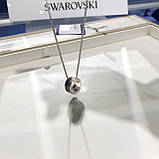 Серебряное ожерелье Swarovski ALTO 5427142, фото 4