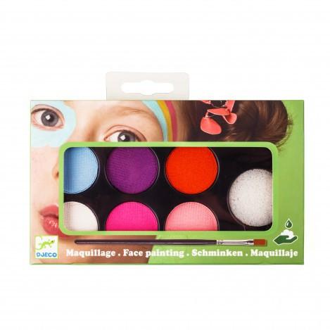 Грим для облииччя палітра 6 кольорів ніжність (DJ09231)