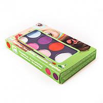 Грим для облииччя палітра 6 кольорів ніжність (DJ09231), фото 3