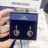 Срібні сережки Starry Night Swarovski 5484016, фото 3