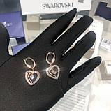 Срібні сережки Starry Night Swarovski 5484016, фото 6