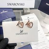 Срібні сережки Starry Night Swarovski 5484016, фото 7