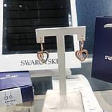 Срібні сережки Starry Night Swarovski 5484016, фото 8