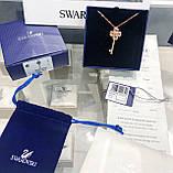Срібна підвіска Swarovski ключик 5422282, фото 6