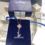 Срібна підвіска Swarovski ключик 5422282, фото 8