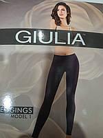 Классические женские бесшовные леггинсы LEGGINGS ТМ Giulia model 01