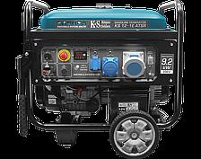 Бензиновый генератор Könner&Söhnen KS 12-1E ATSR (9.2 кВт, электростартер, АВР)
