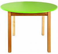 Столики детские круглые, салатовый
