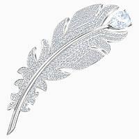 Серебряная брошь Swarovski Nice, фото 1