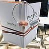 Серебряный набор Pandora (браслет+шармы) позолота 18 к