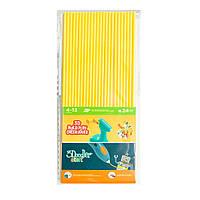 Набор стержней для 3D ручки 3Doodler Start (24шт, желтые) 3DS-ECO04-YELLOW-24