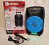 Колонка портативна акустична Kimiso QS-821 з мікрофоном (USB/BT/FM), фото 10