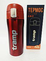 Термокружка Термос Tramp 0,35 л красный металлик