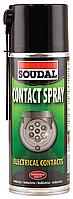 Смазка для ухода за электроприборами 400мл Contact Spray SOUDAL