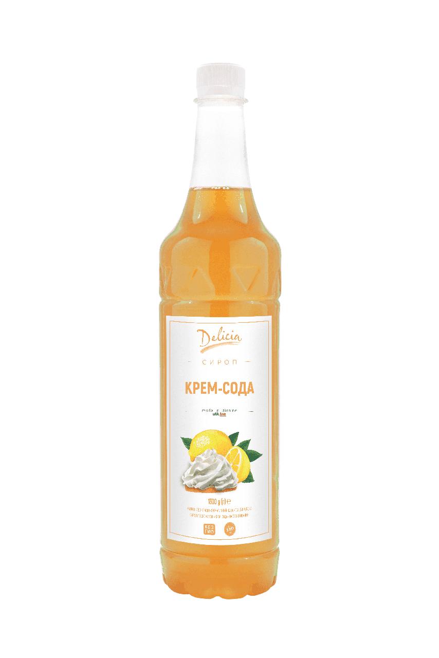 Сироп Крем-сода Delicia 1300 г