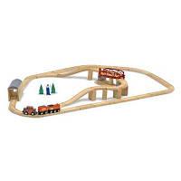 Розвивающая игрушка Melissa&Doug Железная дорога (MD704)