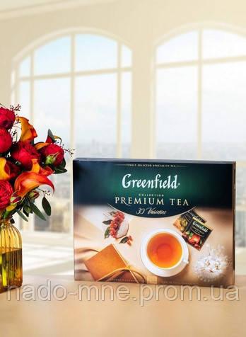 Подарочный набор Чая Greenfield Premium Collecton, 24 вида чая, 96 пакетиков