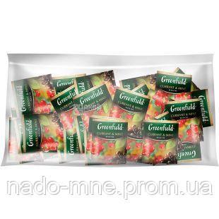 """Чай черный пакетированный Greenfield """"Barberry Garden"""" Барбарис 100шт HoReCa в полиэтиленовом пакете пакете"""