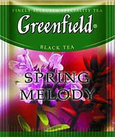 """Чай черный пакетированный Greenfield """"Spring melody"""" Чебрец с мятой 100шт HoReCa в полиэтиленовом пакете"""