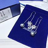 Срібні сережки Swarovski Symbolic 5494344, фото 3