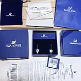 Срібні сережки Swarovski Symbolic 5494344, фото 4