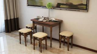 Кухонный комплект (стол и стул, стол и табурет)