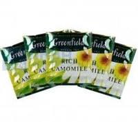 """Чай травяной пакетированный Greenfield """"Rich Camomile"""" Ромашка крупная 100шт HoReCa в полиэтиленовом пакете"""