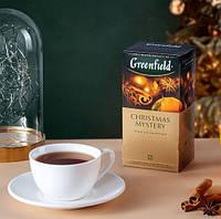 Чай Greenfield Christmas Mystery - Корица, пряности и цитрусы, 25 шт, фото 1